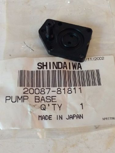 Shindaiwa 20087-81811 Carburettor Pump Base